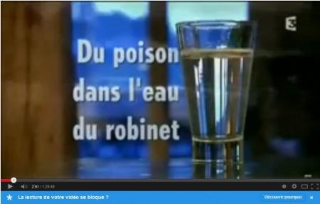 Poison dans l'eau