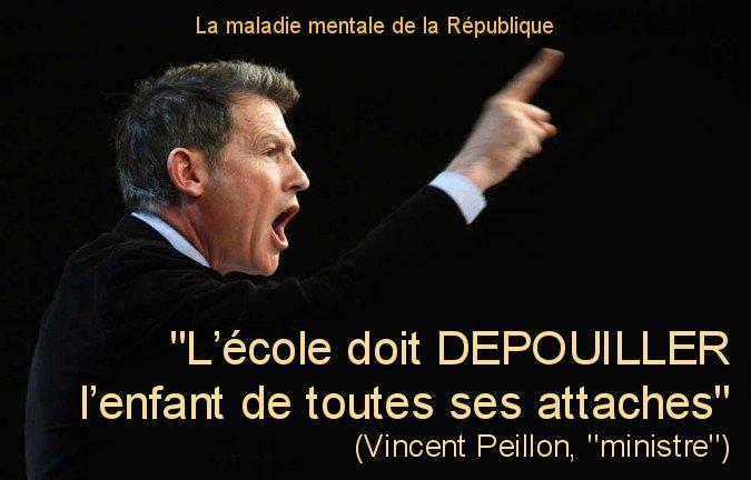 Peillon parle France-Inter le soutient http://l-ecole-a-la-maison.com