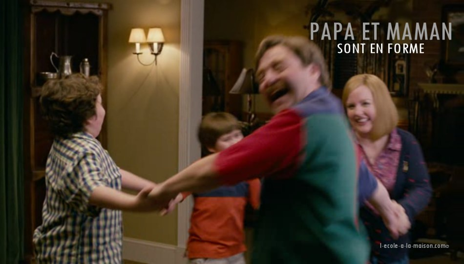 Papa et maman en forme l-ecole-a-la-maison.com