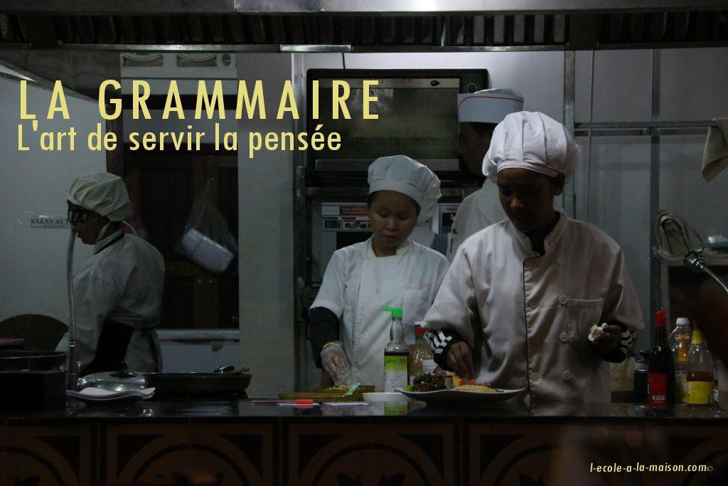 la grammaire en français