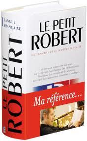 vocabulaire, le petit robert indispensable http://l-ecole-a-la-maison.com