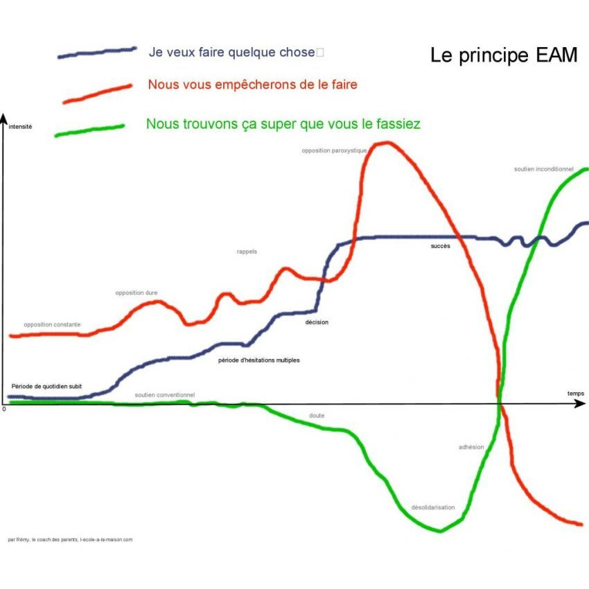 Le principe EAM Le principe d'action
