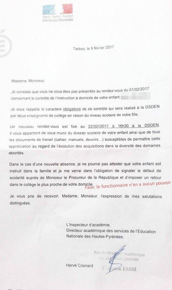 modele lettre a l u0026 39 inspecteur d u0026 39 academie