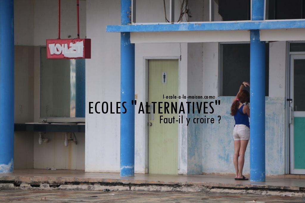 Ecole alternative, école démocratique: les autres catastrophes...