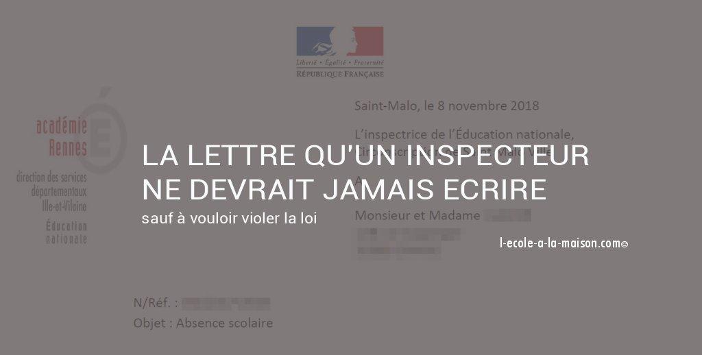 lettre illégale l-ecole-a-la-maisom