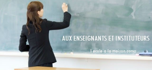 enseignant formation
