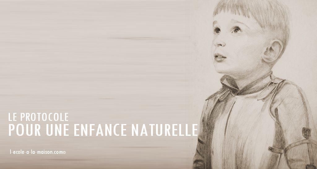 protocole enfance naturelle