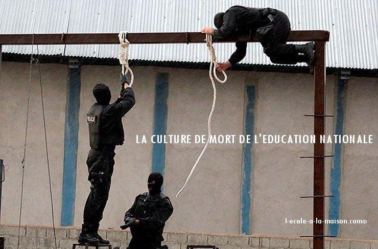 culture de mort de l education nationale