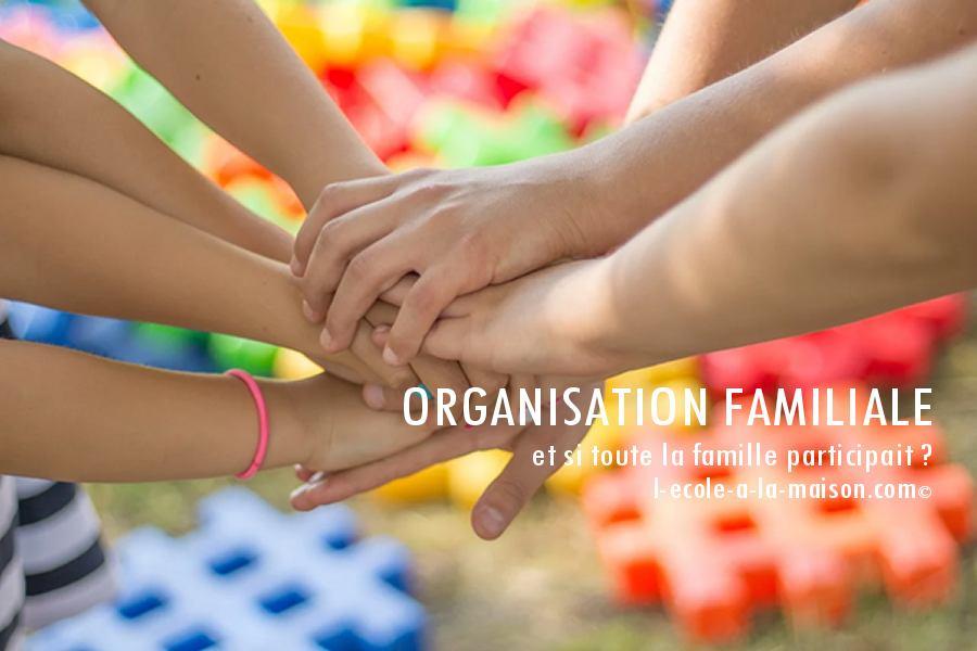 Organisation familiale école à la maison vie de famille ief
